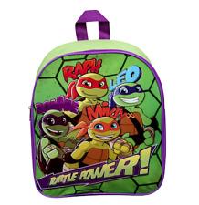 Teenage Mutant Ninja Turtles Leo Ralph Donnie Mikey media concha Héroes Mochila