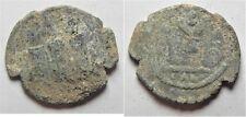 Zurqieh -aa3224- Arab-Byzantine Ae Fils. Tiberias Mint. As Found. Nice Quality W