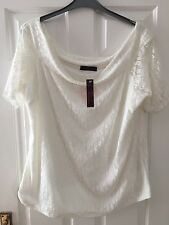 SO FABULOUS. Ladies Lacey Look, Dressy Top. Size 24. BNWT.