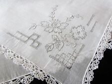 Handkerchiefs for Women with Features Lace & Crocheted