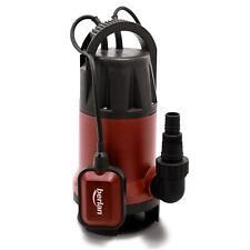 Pompa sommersa immersione elettropompa 1100 W acque nere giardino 15.000 l/h