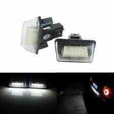 2x Eclairage de plaque LED Citroën C4 C5 Saxo Xsara Peugeot 206 206+ 207 306 307