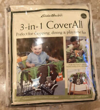 New Eddie Bauer 3-in-1 CoverAll Animal Theme Green/Brown