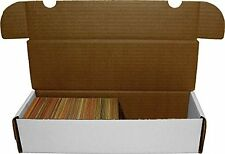 10x BCW 660 COUNT CT Corrugated Cardboard Storage Boxes Sports/Trading Cards box