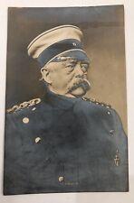 German Chansellor Prince Otto von Bismarck  Antique Vintage Postcard.