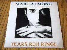 "MARC ALMOND - TEARS RUN RINGS    7"" VINYL PS"