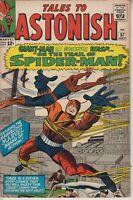 TALES TO ASTONISH # 57  VG/FN SPIDERMAN VS GIANT-MAN  STEVE DITKO ART CENTS 1964