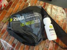 ZUMBA 2013 los angeles instructor conference shoulder backpack bottle bracelets