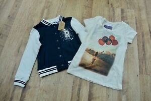 Girls Ex La Redoute Bundle Consisting Of T-shirt And Jacket Age 4 Years