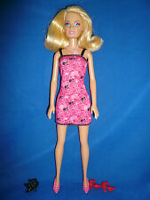 Pretty bionda Bambola Barbie ~ Coda di Cavallo Dress & 3 paia di Scarpe ~ consente di combinare le spese di spedizione