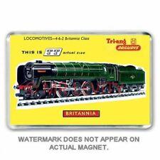TRI-ANG (Triang) RAILWAYS TT GAUGE BRITANNIA CLASS ART JUMBO FRIDGE  MAGNET