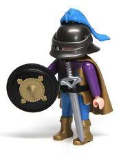 Playmobil Figure Custom Castle Dragon Prince Knight Helmet Cape Sword Sword 3841