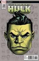 Incredible Hulk #709 MARVEL LEGACY  Mckone Headshot Variant