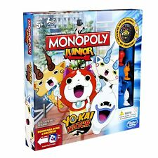 MONOPOLY JUNIOR YO-KAI WATCH EDITION Hasbro Spiele deutsche Version Neu Monopoli