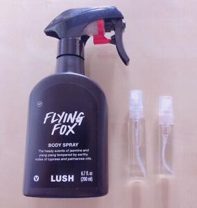 Lush Flying Fox Body Spray Decant 2020