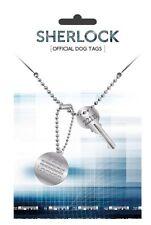 Sherlock Erkennungsmarken mit Kette Sherlocked NEU & OVP