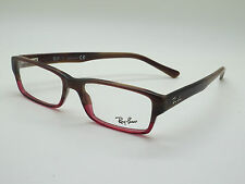 17f31f1efa NEW Authentic Ray Ban RB 5169 5541 Brown Horn-Burgundy 52mm RX Eyeglasses