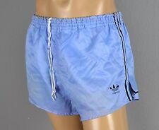 ADIDAS Glanz Nylon Shorts!!!  Vintage Short Sporthose blau-Gr.:L-7  (1250)