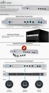 Ubiquiti USG-PRO-4 Unifi Pro Security Gateway - Unboxed
