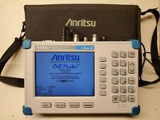 Anritsu CellMaster Mt8212B Base Station Analyzer Gps w/ Opt 21 25 27 28 31 33.