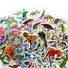 10 pcs dinosaur Stickers 3D children cartoon Scrapbooking puffy Kids  HT
