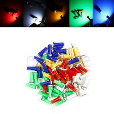 10X Multicolor 12V T5 5050 1 SMD LED Salpicadero Coche Auto Bombilla Lampara BC