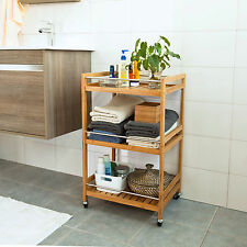 SoBuy® Kitchen Serving Cart, Drinking Trolley, Bathroom Storage Rack,FKW11-N, UK