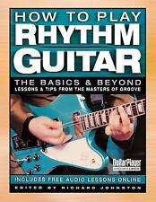 How to Play Rhythm Guitar: The Basics and Beyond-ExLibrary