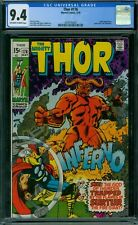 Thor 176 CGC 9.4 - OW/W Pages