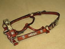 NWOT Vintage BILLY ROYAL Western Show Halter with LOVELY ALPACA SILVER~Yearling