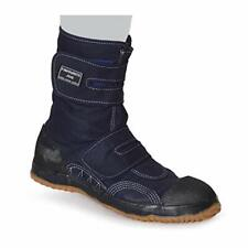 Safety Working Tabi Shoes Boots Favorite Job WIDE Navy M-15 Size US6(24cm)