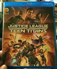 Justice League Vs Teen Titans Blu Ray / Dvd Combo Dc Universe Original Movie