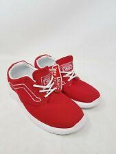 Vans Iso 1.5 Varsity Racing Red/White Skateboarding Shoes Kids Size US 12.5 NWOB