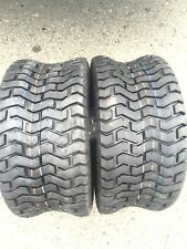 Two New 18x8.50-8 Deestone D265 Turf Riding Lawn Mower Garden Tractor Tires