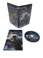 Baldur's Gate: Dark Alliance II (PS2 , 2004) - CIB - Disc in great shape! Tested
