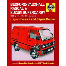Bedford/Vauxhall Rascal Suzuki Supercarry 1.0 Petrol 86-94 Haynes Manual