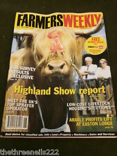 FARMERS WEEKLY - HIGHLAND SHOW REPORT - JULY 2 1999