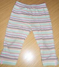 Disney at George girls' striped leggings, 6-9 months