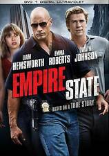 Empire State DVD 2013 Canadian New Dwayne Johnson Liam Hemsworth Emma Roberts