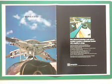 1978 PUB AEROSPATIALE HELICOPTERE DAUPHIN AS 350 STARFLEX ROTOR ORIGINAL AD