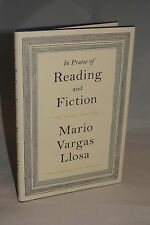 SIGNED: In Praise of Reading & Fiction The Nobel Lecture: Mario Vargas Llosa 1st