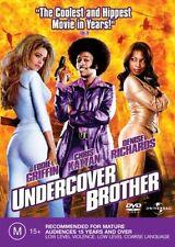 UNDERCOVER BROTHER Eddie Griffin Chris Kattan Denise Richards  DVD R4 NEW - PAL