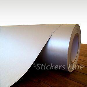 Pellicola adesiva ALLUMINIO SPAZZOLATO cm 25 x 75 (Cast) Aluminium adhesive