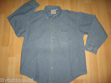 LEE COOPER - Chemise manches longues bleu effet jean - Taille 12 ans - TBE !!