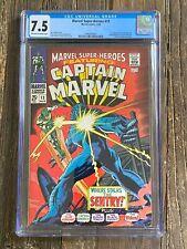 Marvel Super-Heroes 13 CGC 7.5 (Marvel 1968) 🔥 1st App Carol Danvers Ms Marvel