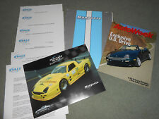 2000 DETOMASO MANGUSTA / QVALE ORIGINAL PRESS KIT BROCHURE, PORTFOLIO More
