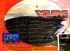 """Yum 6"""" Junebug Forked Dinger Soft Lures 8 Lures per pack YFD604"""