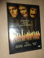 DVD GANGS OF NEW YORK DICAPRIO DAY-LEWIS DIAZ ITALIANO ENGLISH