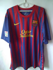 EXCELLENT!!! 2011-12 Barcelona Home Shirt Jersey Trikot XXL