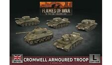 Flames of War British Cromwell Armored Troop Bbx57 Late War Battlefront